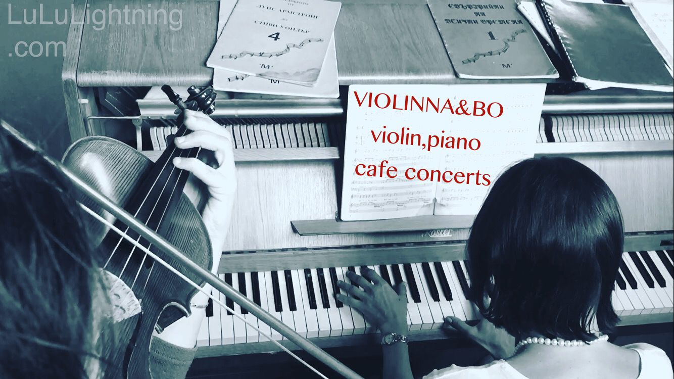 VIOLINNA & BO violin piano Cafe Concert and Classic music